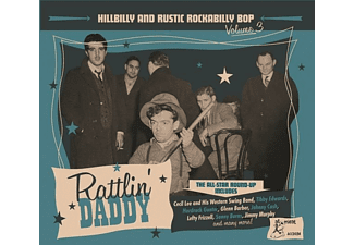 VARIOUS - HILLBILLY And RUSTIC 3 -RATTLIN' DADDY  - (CD)