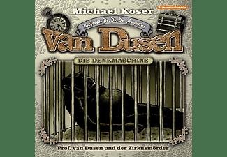 Professor Van Dusen - Professor van Dusen und der Zirkusmörder-Folge 2  - (CD)