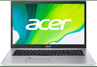 ACER Aspire 5 (A517-52G-79Z5), Notebook mit 17,3 Zoll Display, Core™ i7 Prozessor, 16 GB RAM, 1 TB SSD, GeForce MX350, Silber