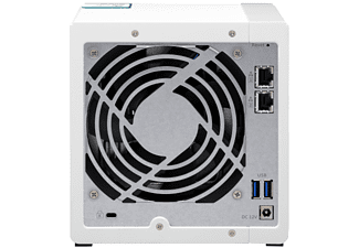 QNAP TS-431K TURBO NAS  NAS 3,5 Zoll Anzahl Festplattenschächte: 4 Weiß}