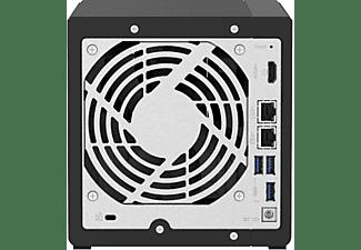 QNAP TS-451D2-4G TURBO NAS  NAS 3,5 Zoll Anzahl Festplattenschächte: 4 Schwarz}