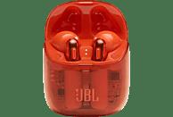 JBL Tune 225 TWS GHOST , In-ear True Wireless Kopfhörer Bluetooth Orange