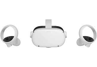 Gafas de realidad virtual - Facebook Oculus Quest2, 256 GB, Vídeo 360º, Blanco