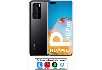 "Móvil - Huawei P40 Pro, Negro, 256 GB, 8 GB, 6.58"" HD+, Kirin 990, 4200 mAh, 5G, Android"