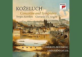 Azzolini,Sergio/Angeli,G./Camerata Rousseau/Muzii - KOZELUCH: CONCERTOS AND SYMPHONY  - (CD)