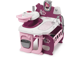 SMOBY Baby Nurse Puppen-Spielcenter Rosa/Lila
