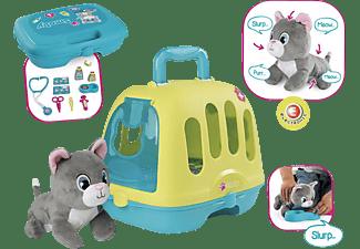 SMOBY Tierarzt-Spielset im Koffer Rollenspielzeug Grün