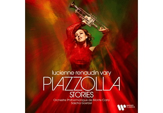 Lucienne Renaudin Vary - PIAZZOLLA STORIES  - (CD)
