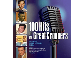 VARIOUS - 100 HITS OF THE GREAT CROONERS  - (CD)