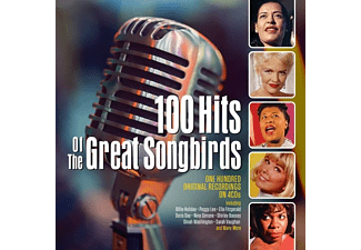 VARIOUS - 100 HITS OF THE GREAT SONGBIRDS  - (CD)