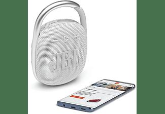 JBL Clip4 Bluetooth Lautsprecher, Weiß