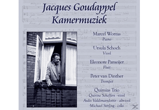 Jacques Goudappel - KAMERMUZIEK  - (CD)