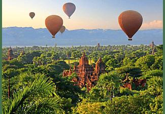 SCHMIDT SPIELE (UE) Heißluftballons, Mandalay, Myanmar 1.000 Teile Puzzle Mehrfarbig