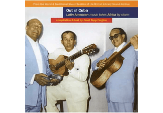 VARIOUS - OUT OF CUBA -21TR-  - (CD)