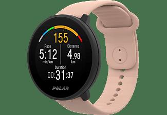 Reloj deportivo - Polar Unite, 130-210 mm, IPS TFT, GPS, FitSpark™, Precision Prime™, Rosa