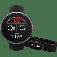 "Reloj deportivo - Polar Vantage V2 HR, 145-215 mm, 1.2"", 40h, GPS, Resistencia al agua, Negro"