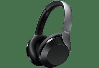 Auriculares inalámbricos - Philips TAPH805BK/00, Diadema, Bluetooth, Micrófono, Asistente de Google, Negro