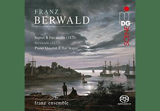 Franz Ensemble - BERWALD: CHAMBER MUSIC  - (SACD Hybrid)