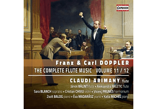 Arimany/Balint/Miletic/Blanch/Balog/+ - THE COMPLETE FLUTE MUSIC VOLUME 11 / 12  - (CD)