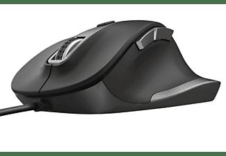 Ratón - Trust 23808 FYDA, Óptico, USB Tipo A, Negro