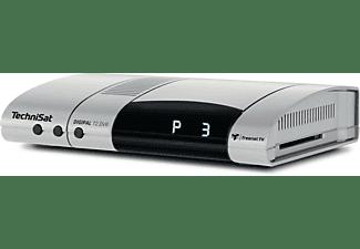 TECHNISAT Digipal T2/C DVR Receiver (HDTV, PVR-Funktion, DVB-T2 HD, DVB-C, DVB-C2, Silber)