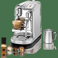 SAGE Nespresso Kaffeemaschine Creatista Pro, Stainless Steel SNE900BSS