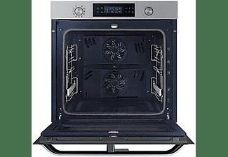 Horno - Samsung NV75N5671RS/EC, 75 L, 1200 W, Dual Cook Flex, Pirolítico, A+, Inox