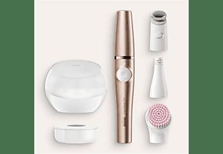 BRAUN FaceSpa Pro SE921 Gesichtsepilierer Weiß/Bronze