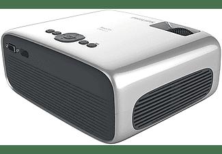 Proyector - Philips NeoPix Ultra 2 NPX642, WiFi, BT, FHD 1920x1080p, 20000h, 3000:1, HDMI, USB, MicroSD, Gris