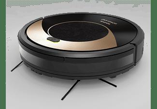 Robot friegasuelos - Taurus Homeland, 1800PA, 450ml, 90 minutos, 6 modos de limpieza, Negro
