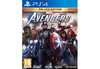 Marvel's Avengers Deluxe Edition - [PlayStation 4]