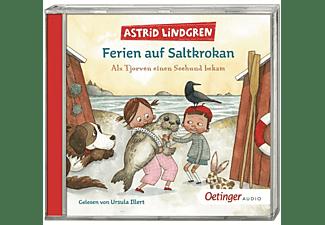 Astrid Lindgren - Ferien auf Saltkrokan: Als Tjorven einen Seehund b  - (CD)
