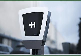 HEIDELBERG WALLBOX Energy Control 5.0M Ladestation für Elektrofahrzeuge, Edelstahl