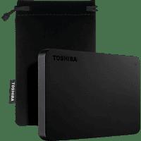 TOSHIBA Canvio Basics Exclusive, 1 TB HDD, 2,5 Zoll, extern, Schwarz
