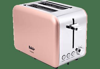 FAKIR 9226001 Calypso Toaster Rosé (850 Watt, Schlitze: 2)