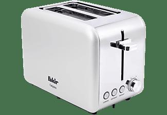 FAKIR 9227001 Calypso Toaster Weiß (850 Watt, Schlitze: 2)