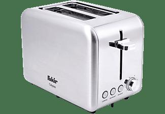 FAKIR 9228001 Calypso Toaster Silber/Edelstahl (850 Watt, Schlitze: 2)