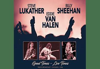 Van Halen,Eddie,Billy Sheehan & Steve Lukather - Good Times-Live Times 1996  - (CD)