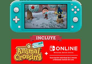 REACONDICIONADO Consola - Nintendo Switch Lite, Portátil, Turquesa