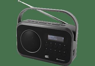 SOUNDMASTER DAB270SW DAB+ Radio, digital, DAB+, FM, Schwarz
