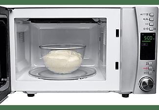 Microondas - Candy CMXG 25 DCS, 25l, Grill, Cook in App,40 programas automáticos,900-1000W,5 potencias, Silver