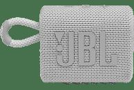 JBL GO3 Bluetooth Lautsprecher, Weiß