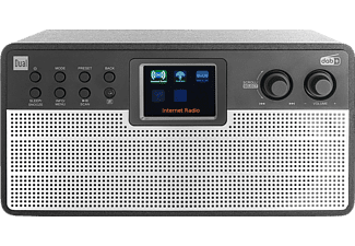 DUAL IR 100 Radiowecker, DAB/DAB+/UKW, DAB, DAB+, FM, Internet Radio, Bluetooth, Schwarz