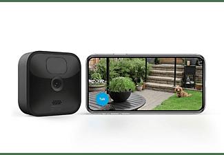 Cámara de vigilancia IP - Amazon Blink Outdoor, Full HD, WiFi, Compatible con Alexa, Visión Nocturna, Negro