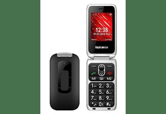 "Móvil - Telefunken TM240 COSI, Para mayores, Bluetooth, 2.6 "", 64 MB, Negro"