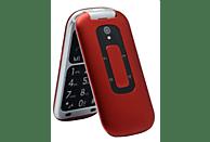"Móvil - Telefunken TM240 COSI, Para mayores, Bluetooth, 2.6 "", 64 MB, Rojo"