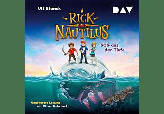 Ulf Blanck - Rick Nautilus,Teil 1: SOS aus der Tiefe  - (CD)