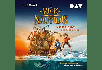 Ulf Blanck - Rick Nautilus,Teil 2: Gefangen auf der Eiseninsel  - (CD)