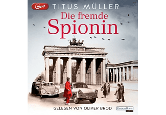 Titus Müller - Die fremde Spionin-Folge 1  - (MP3-CD)