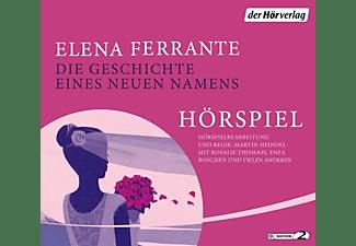 Elena Ferrante - Die Geschichte eines neuen Namens  - (CD)